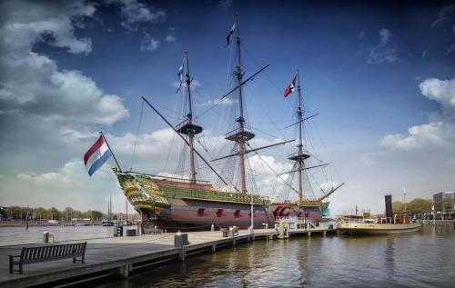 VOC Amsterdam (replica) collectie Scheepvaartmuseum Amsterdam